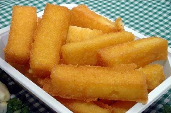 TudoReceitas.com - Receita de Polenta frita - Fácil - 5 passos (com imagens)