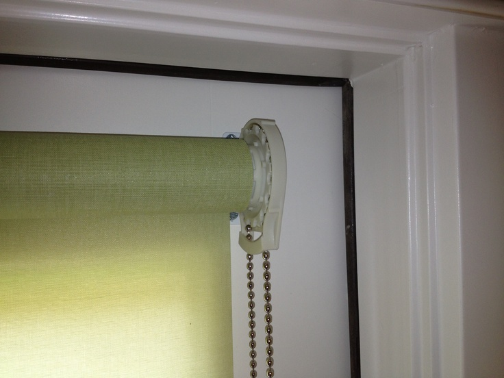 Roller Shades W O Cassettes Outside Mount Blinds