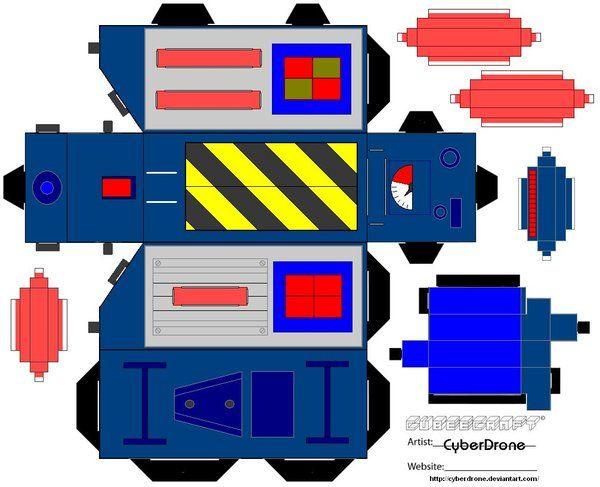 Cubee - Ghost Trap 'Cartoon' by CyberDrone.deviantart.com on @deviantART
