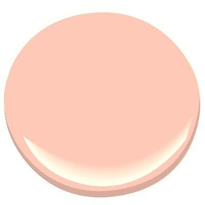 malibu peach 2169-50 Paint - Benjamin Moore malibu peach Paint Color Details