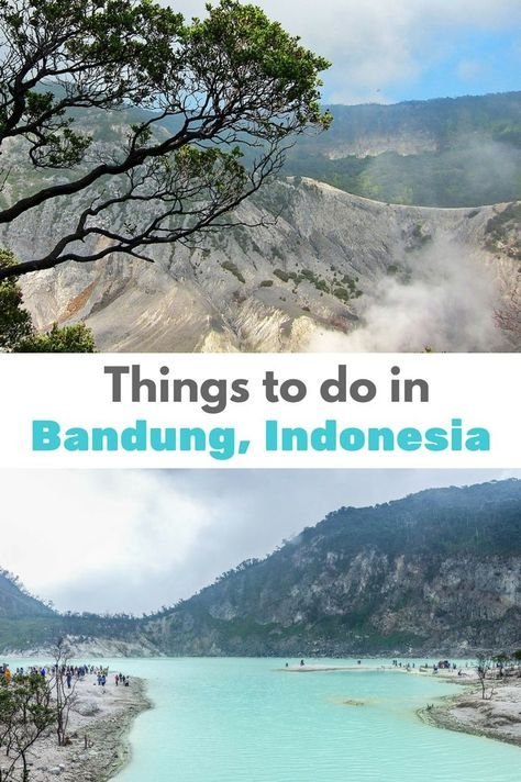 Things to do in Bandung, Indonesia, If you love hot spring spas, long to climb an active volcano and are looking for great bargain shopping - Bandung may be the place for you! Click to find out more!