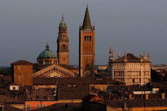 Parma, Cattedrale, Battistero, San Giovanni, all'alba - Foto di Edoardo Fornaciari