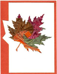 Maple Leaf Quilt Block: Instructions in 3 sizes