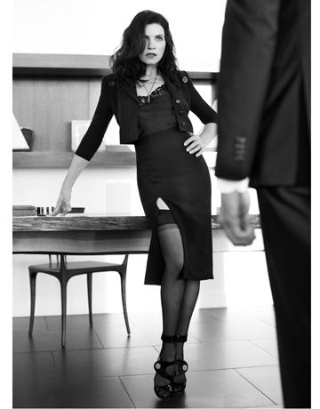 Julianna Margulies: photo credit: Alexi Lubomirski