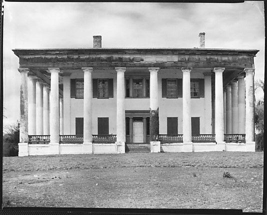 Greenwood Plantation, 6838 Highland Road, St. Francisville, Louisiana - Photographs taken March 1935 © Walker Evans Archive, The Metropolitan Museum of Art