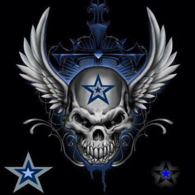 Картинки по запросу dallas cowboys skull tattoos