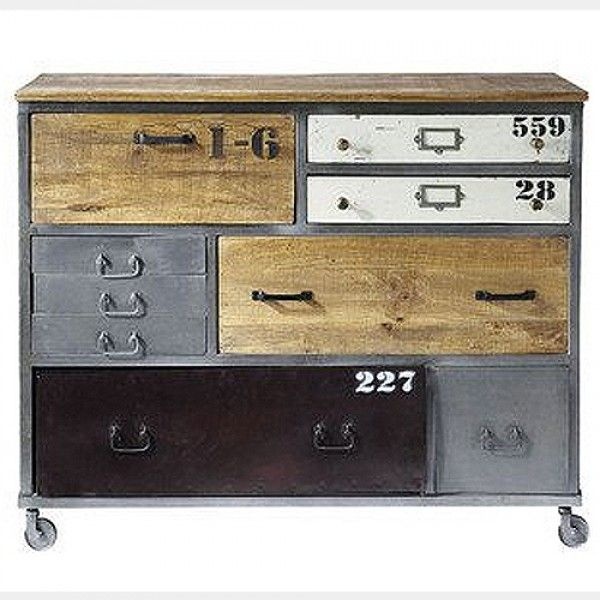 Industrial Chest of Drawers | Cargo Furniture | Loft