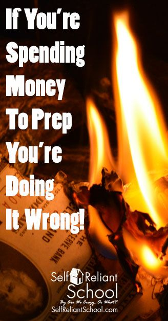 Spending money to prep every week does not make you prepared to take on whatever comes your way  Come learn what does help you prep for the future   beselfreliant