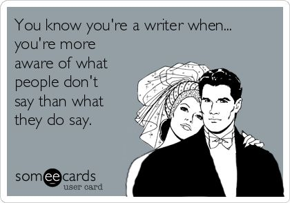 You know you're a writer when... #writinghumor http://writersrelief.com