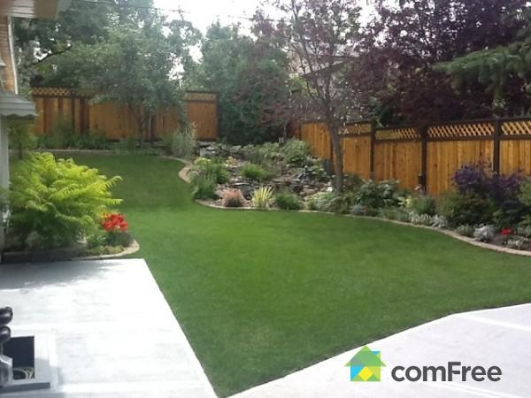 Idea For Landscaping Along The Fence