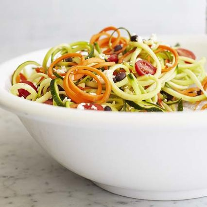Southwestern Zoodle Salad with Chipotle-Lime Dressing. | Simply perpetuating my new found infatuation with Sur La Table
