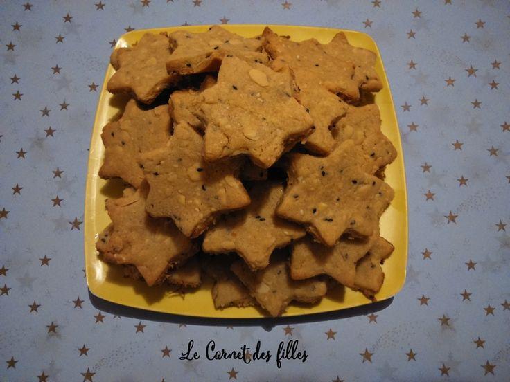 Le Carnet Des Filles - Blog Nail Art, Beauté, Cuisine, Loisirs créatifs: Biscuits à la purée de sésame