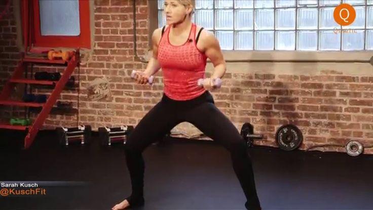 Sarah's Barre Body Part 1: Cardio Barre