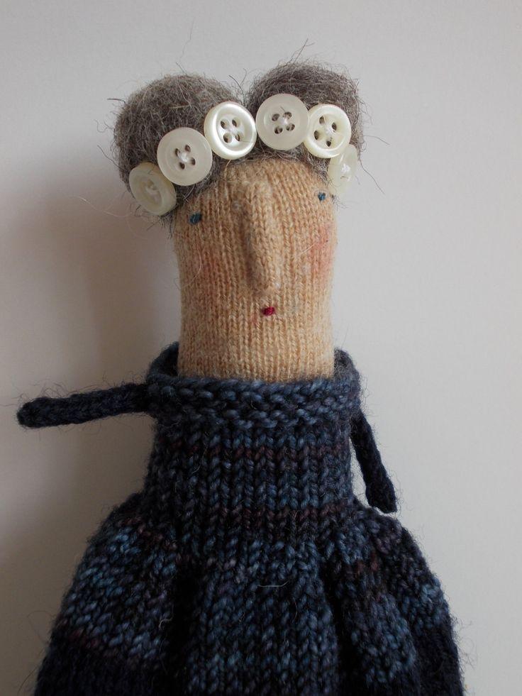 Coraline a folk art doll by maidolls on Etsy, £32.00