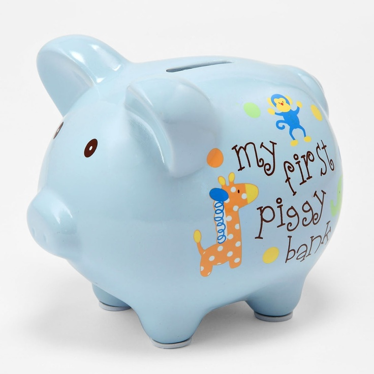 First piggy bank    #piggybank  #shopko