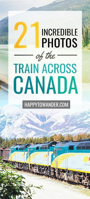These incredible photos will inspire you to take the train across Canada. SO many inspirational photos that will inspire you to travel Canada, including Vancouver, Banff, Saskatoon, Toronto, Montreal, Halifax and Prince Edward Island. #Canada #TrainTravel #Travel #Vancouver #Toronto #PrinceEdwardIsland #Halifax #Saskatoon #canadatravel