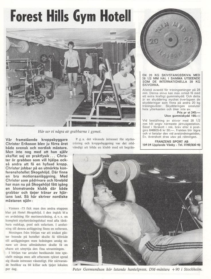 Sweden Skogshöjd -  Forest Hills Gym 1979