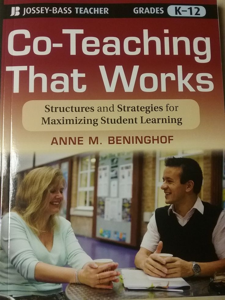 Co-Teaching That Works by Anne M. Beninghof paperback