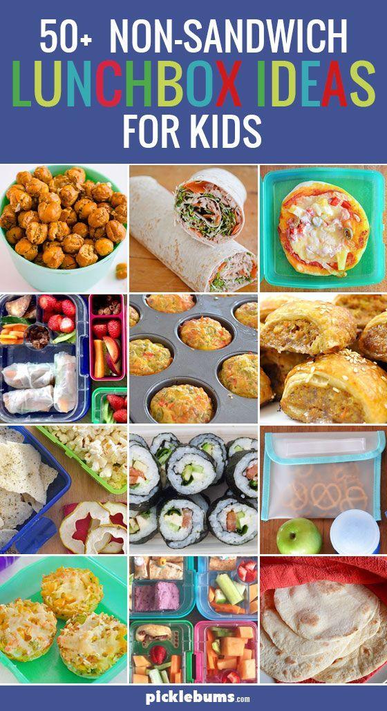 50+ non-sandwich lunchbox ideas for kids