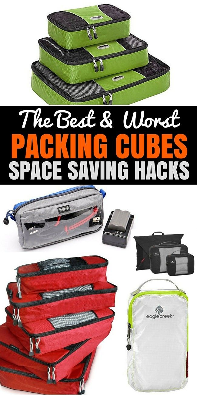 Are Packing Cubes Worth It? Well, they certainly have big advantages, not least because they offer you a little bit of order within the jumbled mess that can be your suitcase. Here are our suggestions for the best packing cubes.