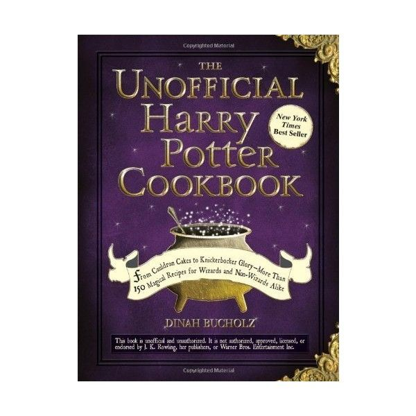 The Unofficial Harry Potter Cookbook From Cauldron Cakes to... ($9.99) ❤ liked on Polyvore featuring home, kitchen & dining, cookbooks, books, knickerbocker, recipe cookbook and cook-book
