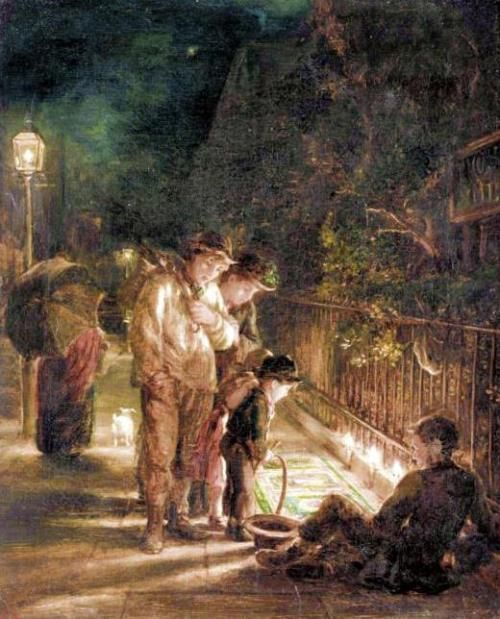 Alfred Morgan - The Street Artist