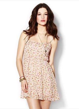 Floral Chiffon Dress. Price $29.90