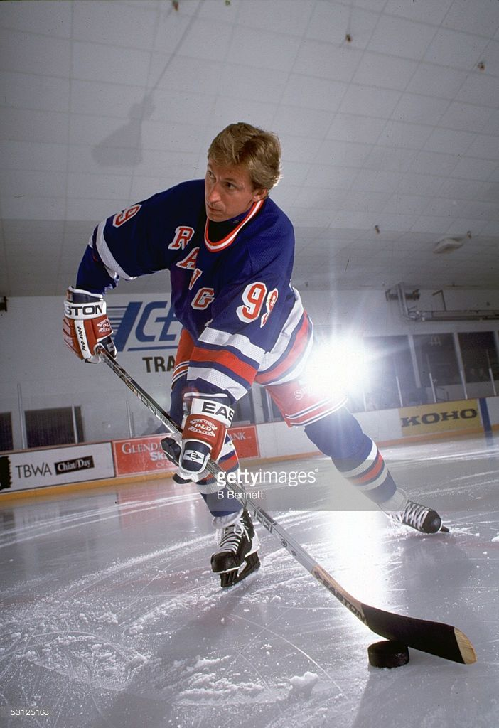 Wayne Gretzky And Player Wayne Gretzky.