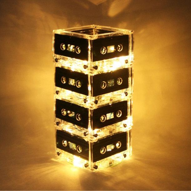 casette tape lamp