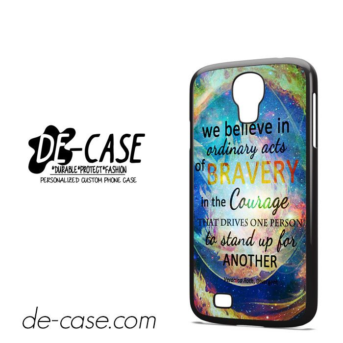 Divergent Dauntless Quote Nebula DEAL-3471 Samsung Phonecase Cover For Samsung Galaxy S4 / S4 Mini