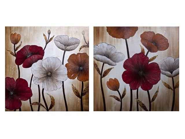 Cuadro de flores blancas buscar con google cuadros - Cuadros florales modernos ...