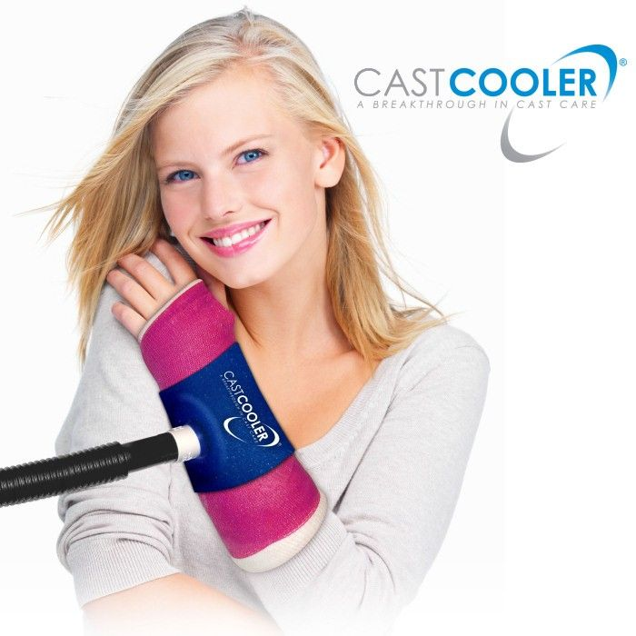 CastCooler Itchy Cast Relief Cools and Reduces Odor