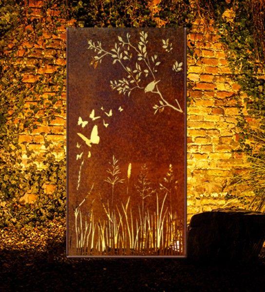 Die besten 25 sichtschutz metall ideen auf pinterest for Gartenobjekte aus metall