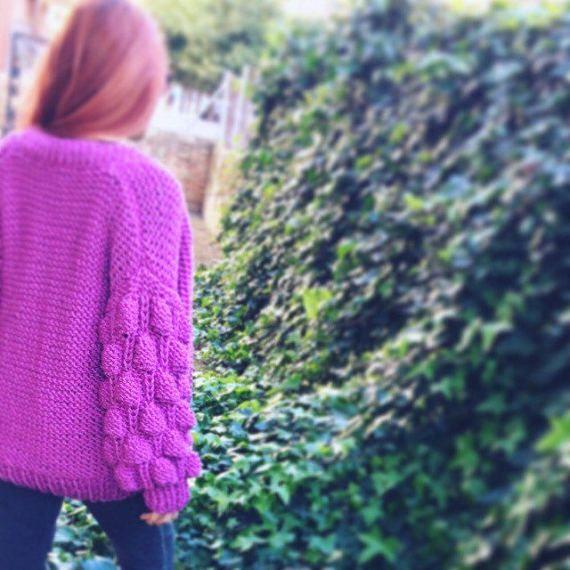Rebeca de lana hecha a mano en todos los colores y medidas.Muy