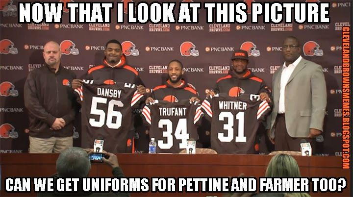 Mike Pettine and Ray Farmer are huge