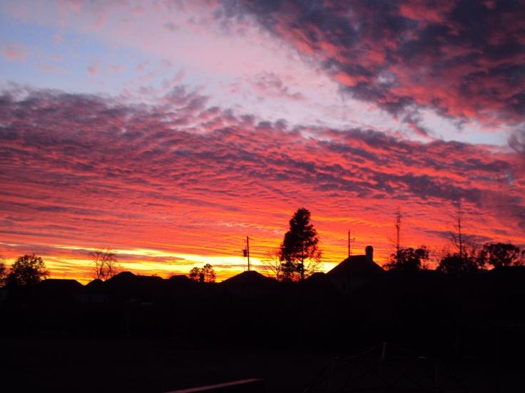 Sunset in Baton Rouge, La