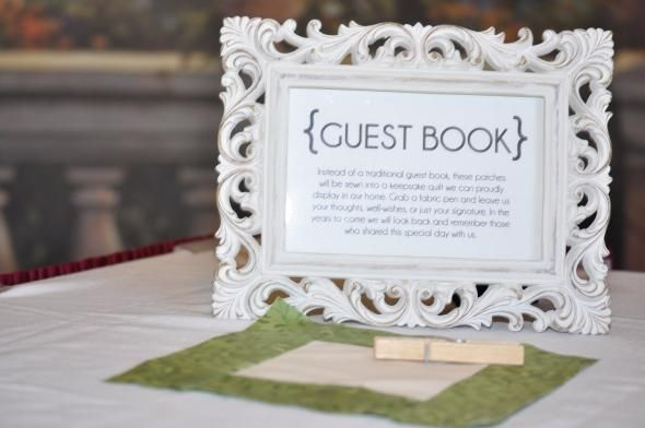 1000 Images About Guest Book Quilt Ideas On Pinterest