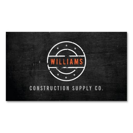 12 best construction and builders business card templates images on fully customizable business card template for construction company contractors builders handyman carpenters reheart Images