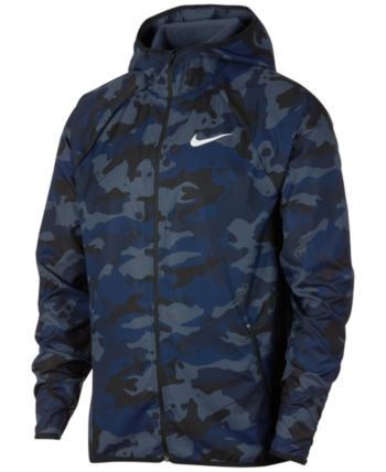 cc2eabfd4 Nike Men's Woven Camo-Print Training Jacket - Blue M | Products in ...