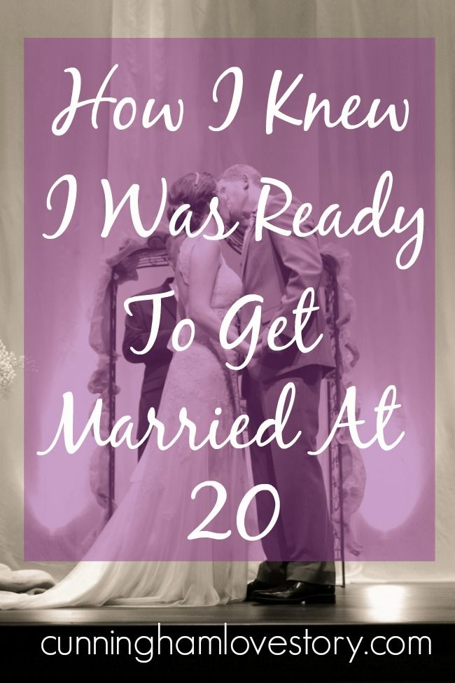 Getting married young is often looked down upon these days. Find out some ways on how I knew I was ready to get married at 20 years old over on the blog today! Maybe you'll learn if you're ready!