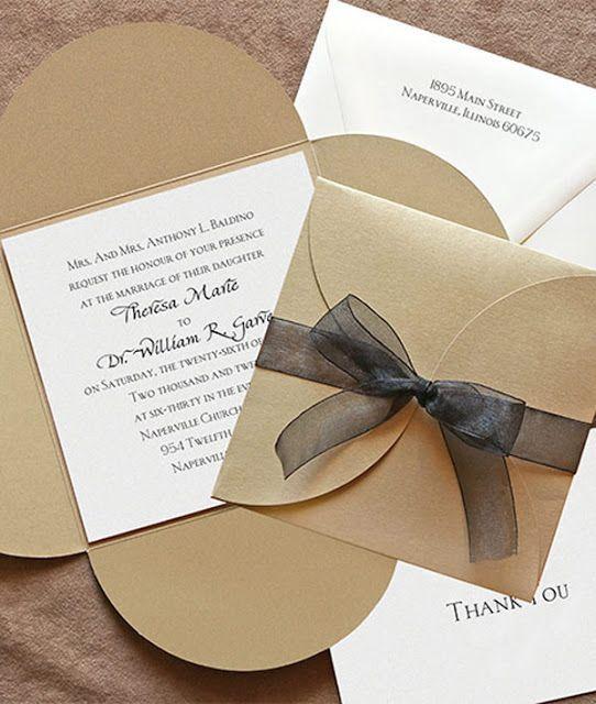 Descubre estos ejemplos de invitaciones de boda sencillas con las que podrás sorprender a todos tus invitados. Ideas modernas pero muy sutiles y discretas                                                                                                                                                                                 Más