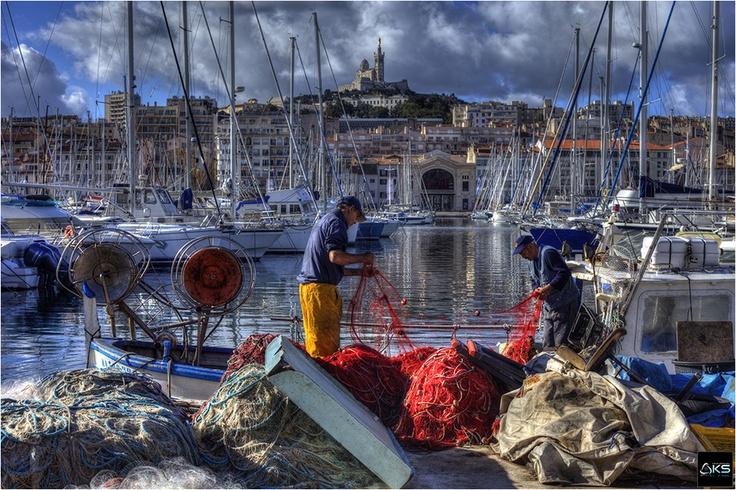 Marseille, le vieux port