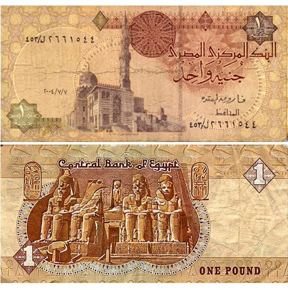 Above is one of seven denominations of Egyptian banknotes that were introduced into circulation by the Central Bank of Egypt in…