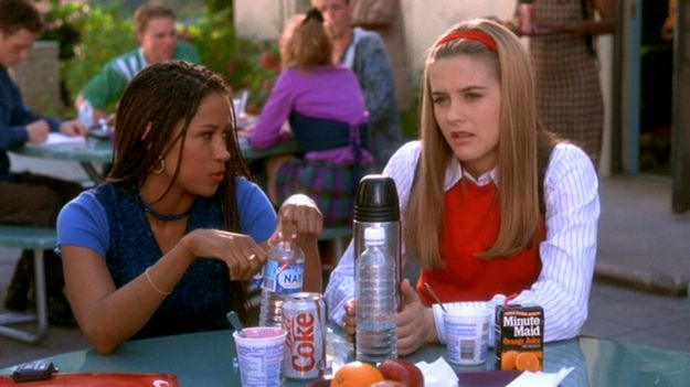 """Original Cher and Original Dee kept their hair relatively sane. 