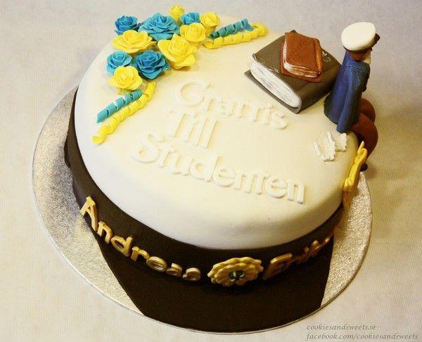 Swedish graduating cake - Studenttårta