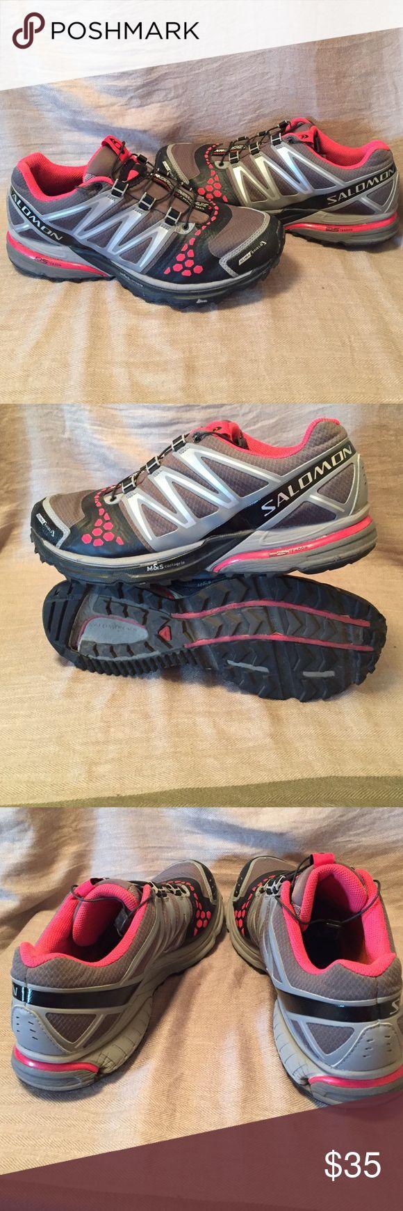 Salomon XR Crossmax Tennis shoes women's sz 9.5 Lots of life left. They don't have insoles. Salomon Shoes Athletic Shoes