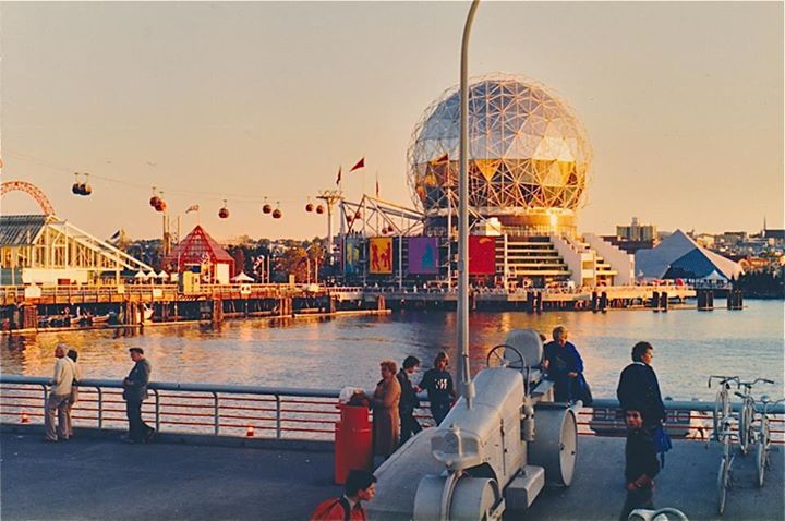 Expo 86 - Vancouver. Photograph by Ross Stenmark.
