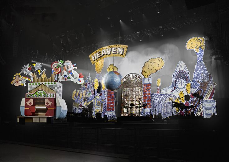 studio job dreams up technicolor stage set for mika's 'no place in heaven' tour