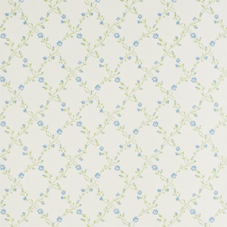 Sanderson - Traditional to contemporary, high quality designer fabrics and wallpapers   Products   British/UK Fabric and Wallpapers   Forget Me Not (DPEMFM101)   Pemberley Wallpapers