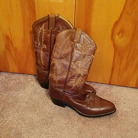 Tony Lama Cowboy boots Tony Lama Cowboy boots. Men's size 10. Excellent condition. Tony Lama  Shoes Ankle Boots & Booties